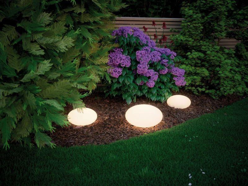 lampa ogrodowa białe tworzywo
