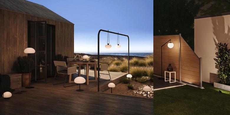 Lampy z akumulatorem - oświetlenie zewnętrzne bez instalacji elektrycznej ładowane za pomocą USB