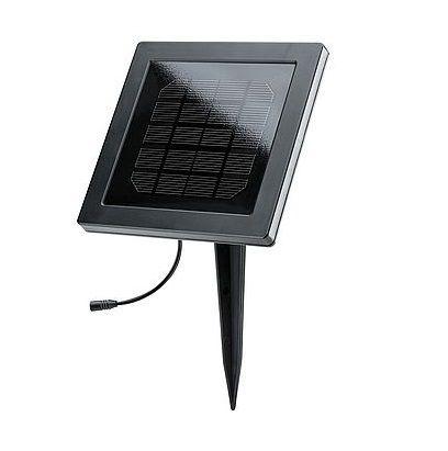 panel solarny do oświetlenia ogrodowego drzewa