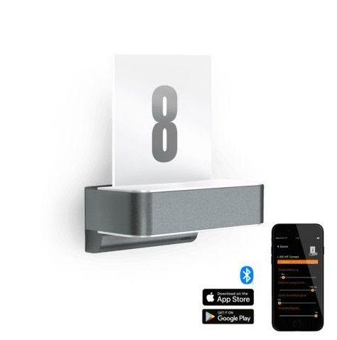 podświetlany numer domu led z aplikacja
