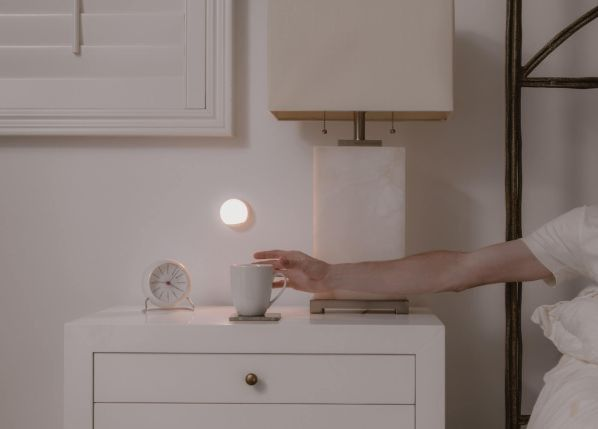 lampka nocna LED do sypialni na baterię