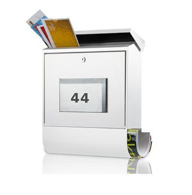 skrzynka na listy z numerem domu
