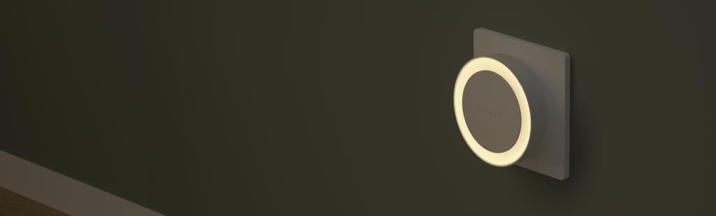 lampka nocna do gniazdka