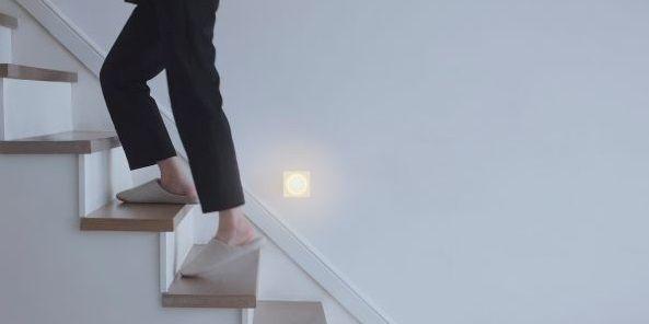 lampka nocna do gniazdka na schody