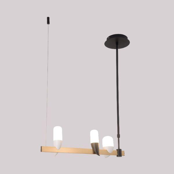 designerska lampa wisząca figurki ptaków