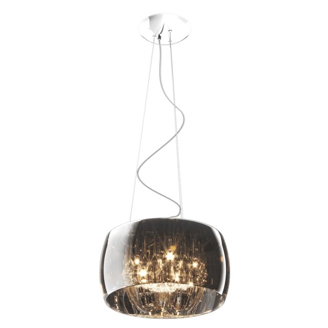 lampa wisząca kryształowe detale