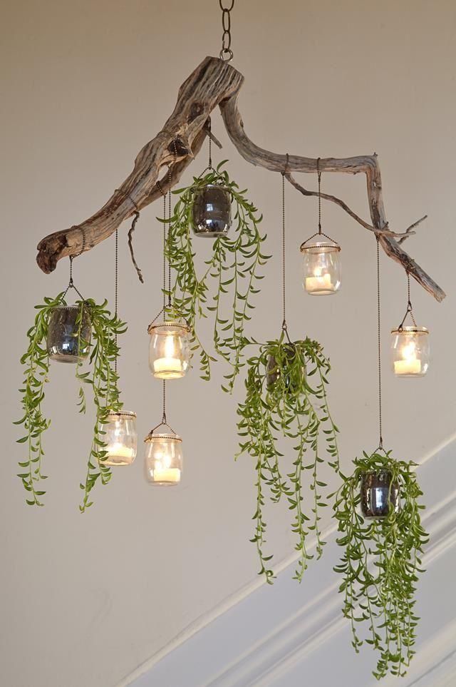 pomysł na żyrandol DIY