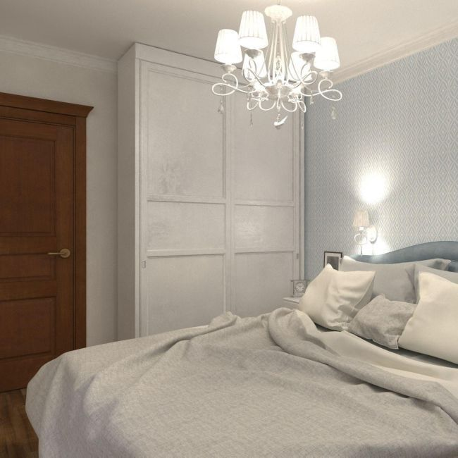 pomysł żyrandoal w sypialni
