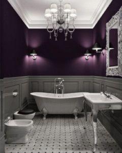 żyrandol w łazience