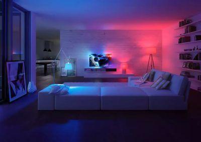 Połączenie oświetlenia z telewizorem - Ambilight TV i Philips Hue