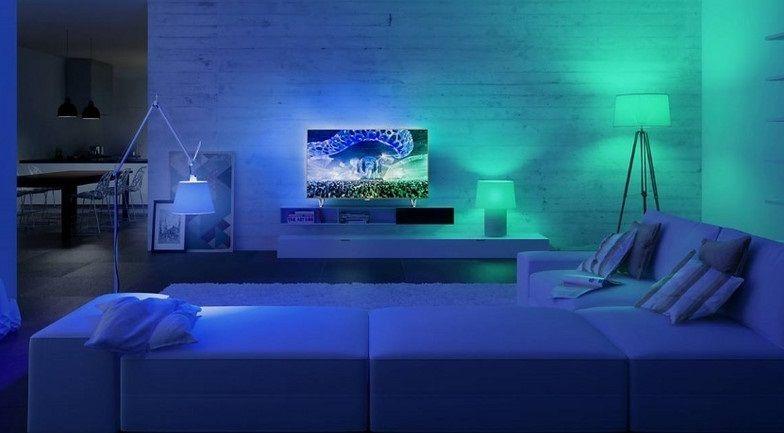 synchronizacja oświetlenia z telewizorem