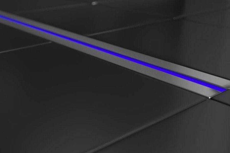 fuga LED z podświetleniem