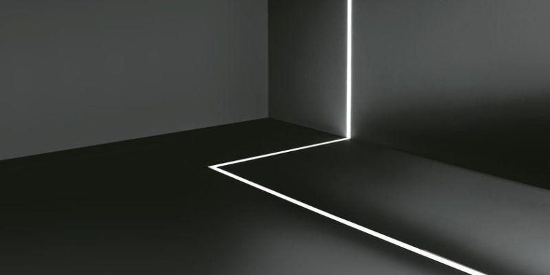 Jak zrobić oświetlenie LED w fugach płytek w łazience?