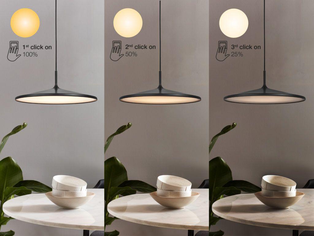 Funkcja MoodMaker w lampach wiszących