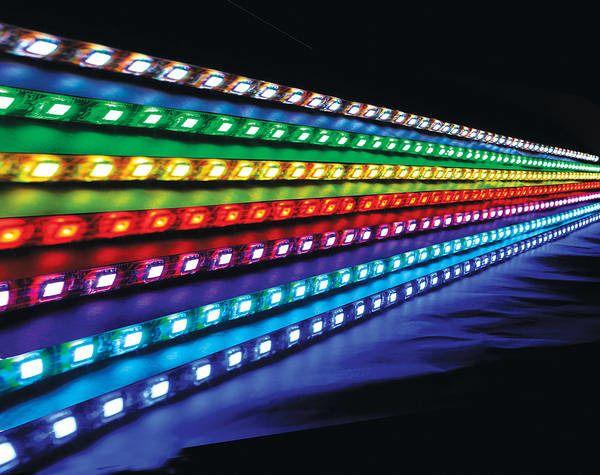 barwę światła wybrać do podświetlenia łóżka