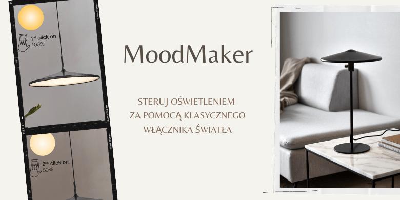 Lampy z funkcją MoodMaker ™, czyli ściemniacz w wyłączniku