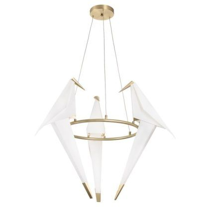 Designerska lampa LED