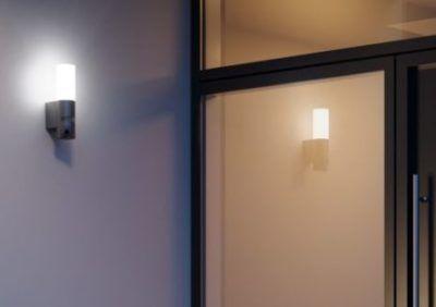 Kinkiet zewnętrzny z kamerą w jednym – oświetlenie podjazdu i ogrodzenia