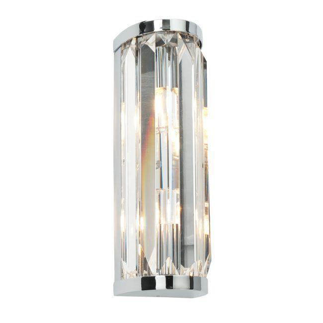 Elegancki kinkiet Crystal – Endon Lighting – kryształki