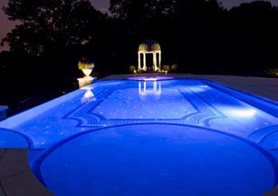 Oświetlenie basenowe wodoszczelne. Jakie lampy dobrać?
