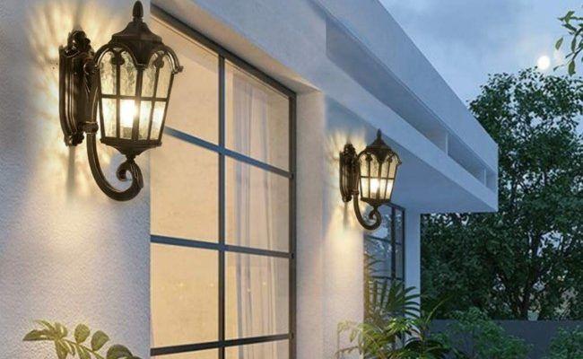 Jak zamocować kinkiet zewnętrzny lub lampę na elewacji w styropianie?