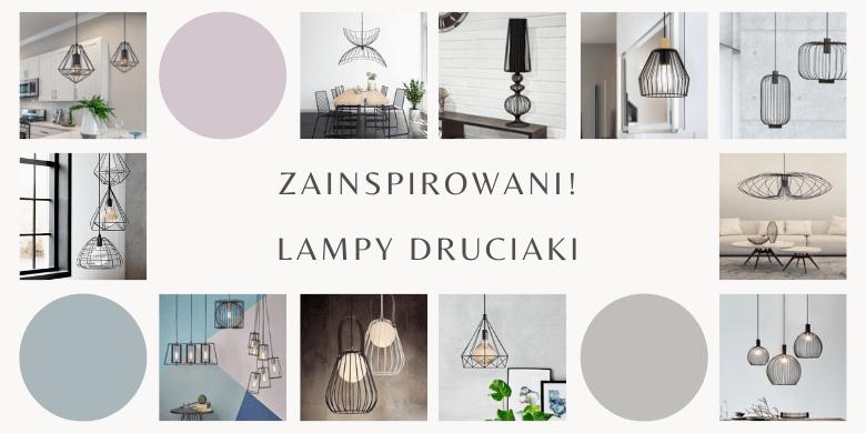 Zainspirowani! Druciane lampy