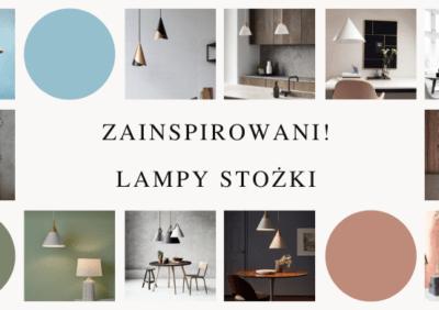 Zainspirowani! Lampa w kształcie stożka
