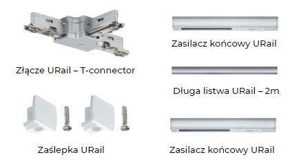 Akcesoria do montażu oświetlenia szynowego Pulmann
