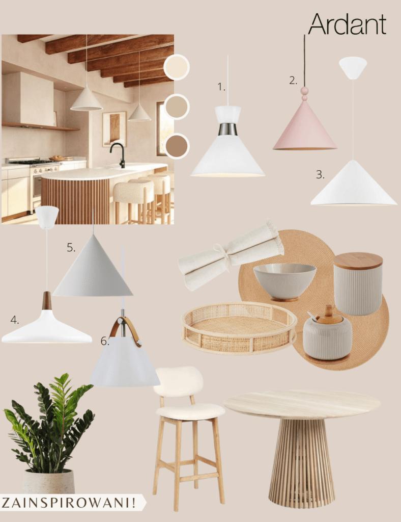 Lampy w kształcie stożka