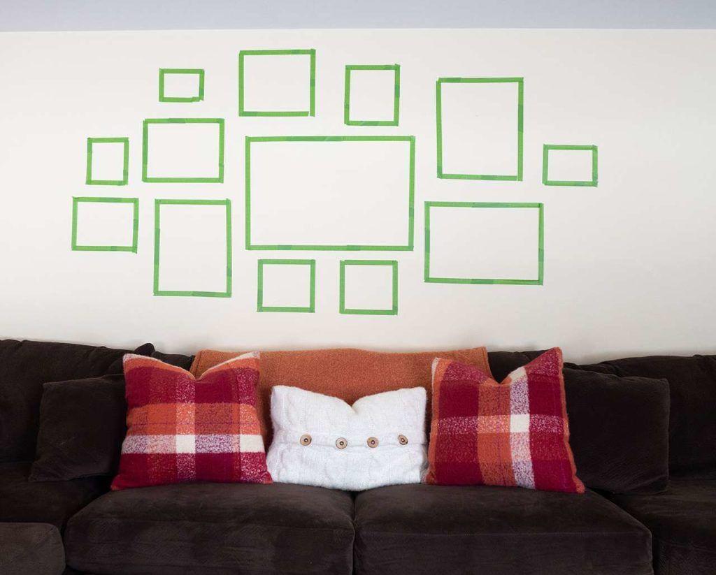 Jak zaplanować wieszanie zdjęć