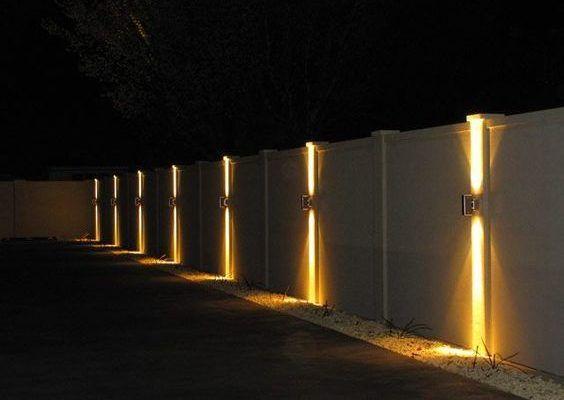 Oświetlenie ogrodzenia – lampy na słupki ogrodzeniowe