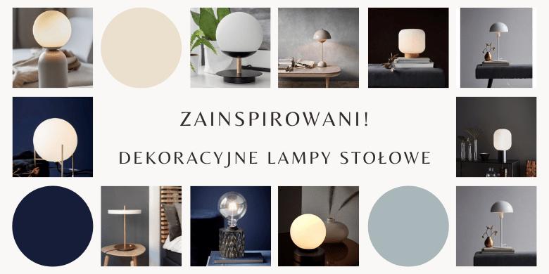 Zainspirowani! Małe lampki stołowe do salonu