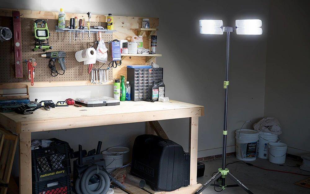 oświetlenie garażu i warsztatu