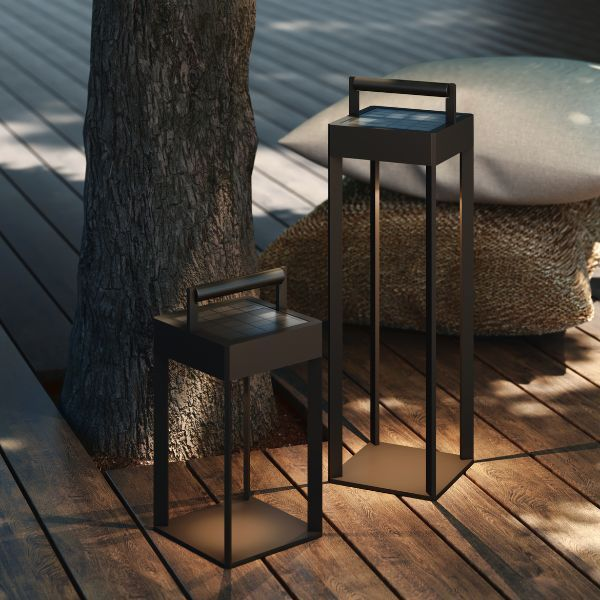 nowoczesne lampy solarne