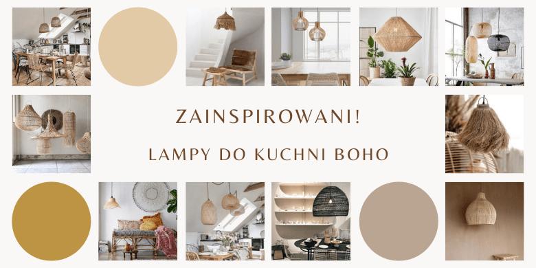 Zainspirowani! Lampy do kuchni boho