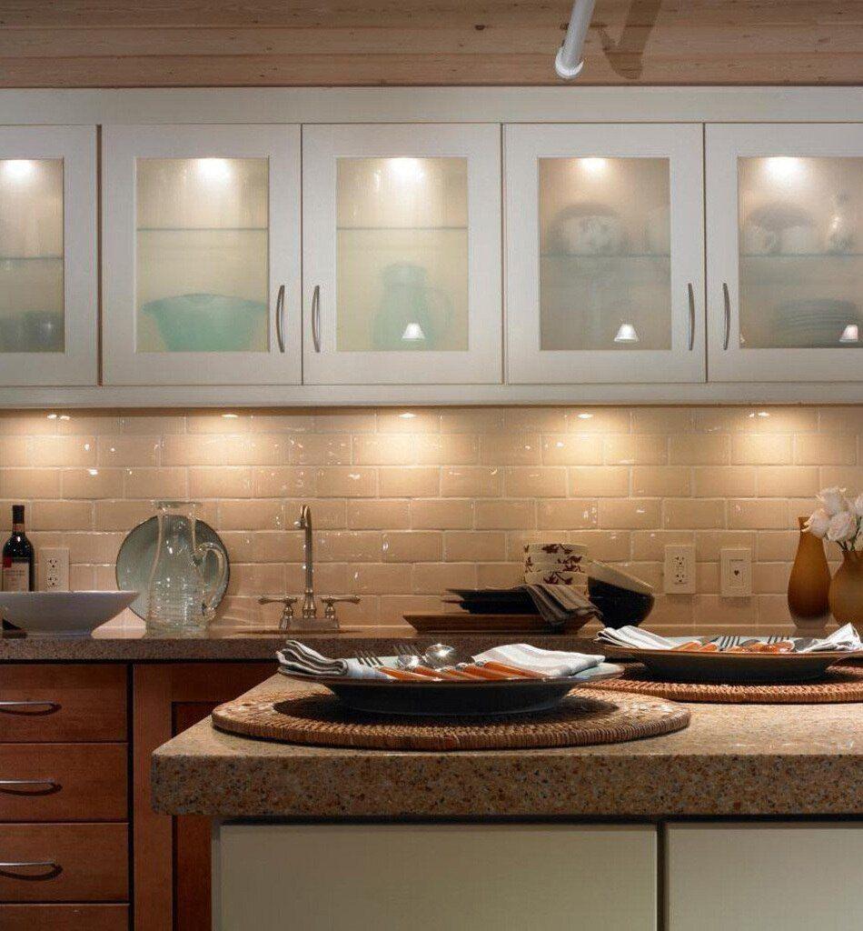 Oczka do oświetlenia blatu kuchennego