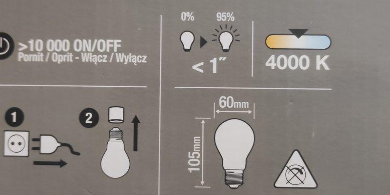 Oznaczenia na żarówkach LED – barwy cieple i zimne. Jak dobrać?