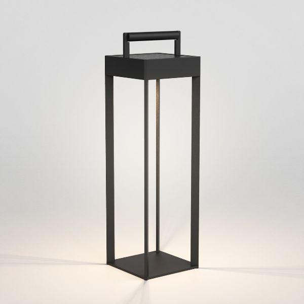 Lampa solarna z możliwością ładownia przez port USB