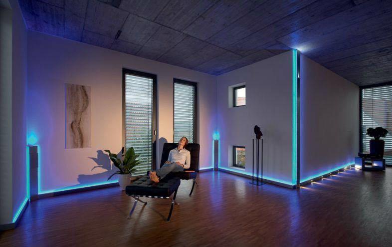 barwa światła a oświetlenie podłogowe