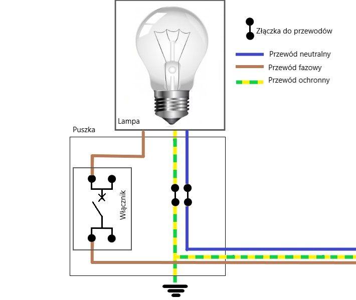 jak działa włącznik światła