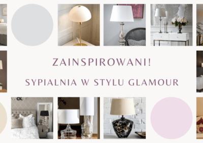 Zainspirowani! Lampy stołowe do sypialni glamour