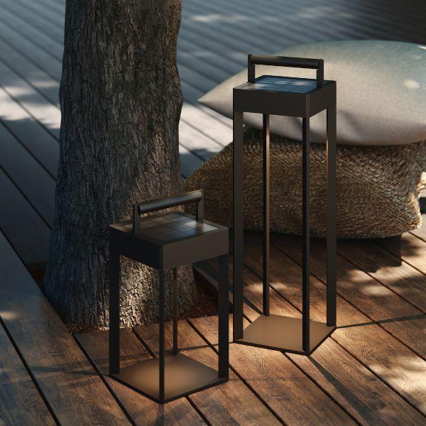 lampion solarny do ogrodu z możliwością ładowania usb