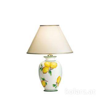 Lampa stołowa GIARDINO LEMONE S - Kolarz - ceramika, tkanina