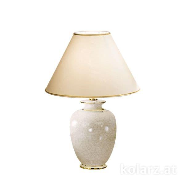 elegancka lampa stołowa, biała ceramika