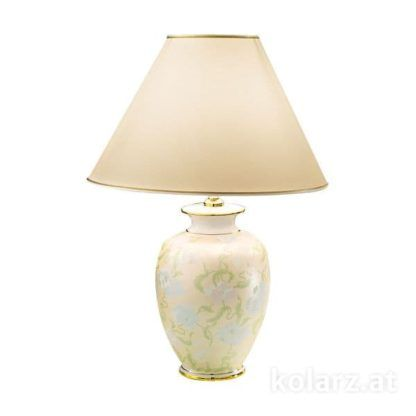 duża lampa stołowa, klasyczna, ceramika