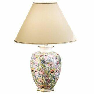 Lampa stołowa GIARDINO PANSE L - Kolarz - ceramika, tkanina