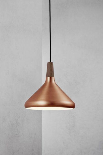 Nowoczesna lampa wisząca Nori 27 - DFTP - Nordlux - miedziana