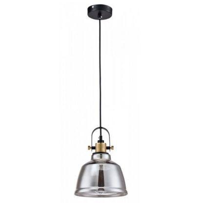 lampa wisząca szare szkło