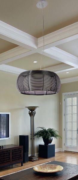 nowoczesna lampa wisząca - aranżacja