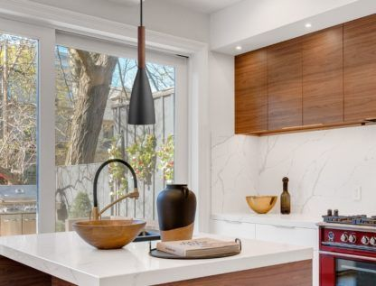 lampa nad zlew i wyspę w kuchni